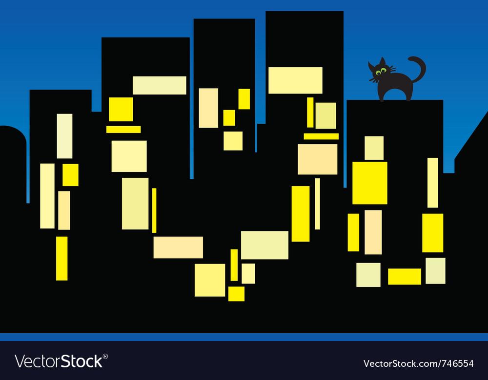 City love vector | Price: 1 Credit (USD $1)