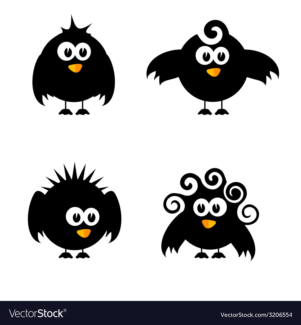 Funny and sweet bird vector | Price: 1 Credit (USD $1)