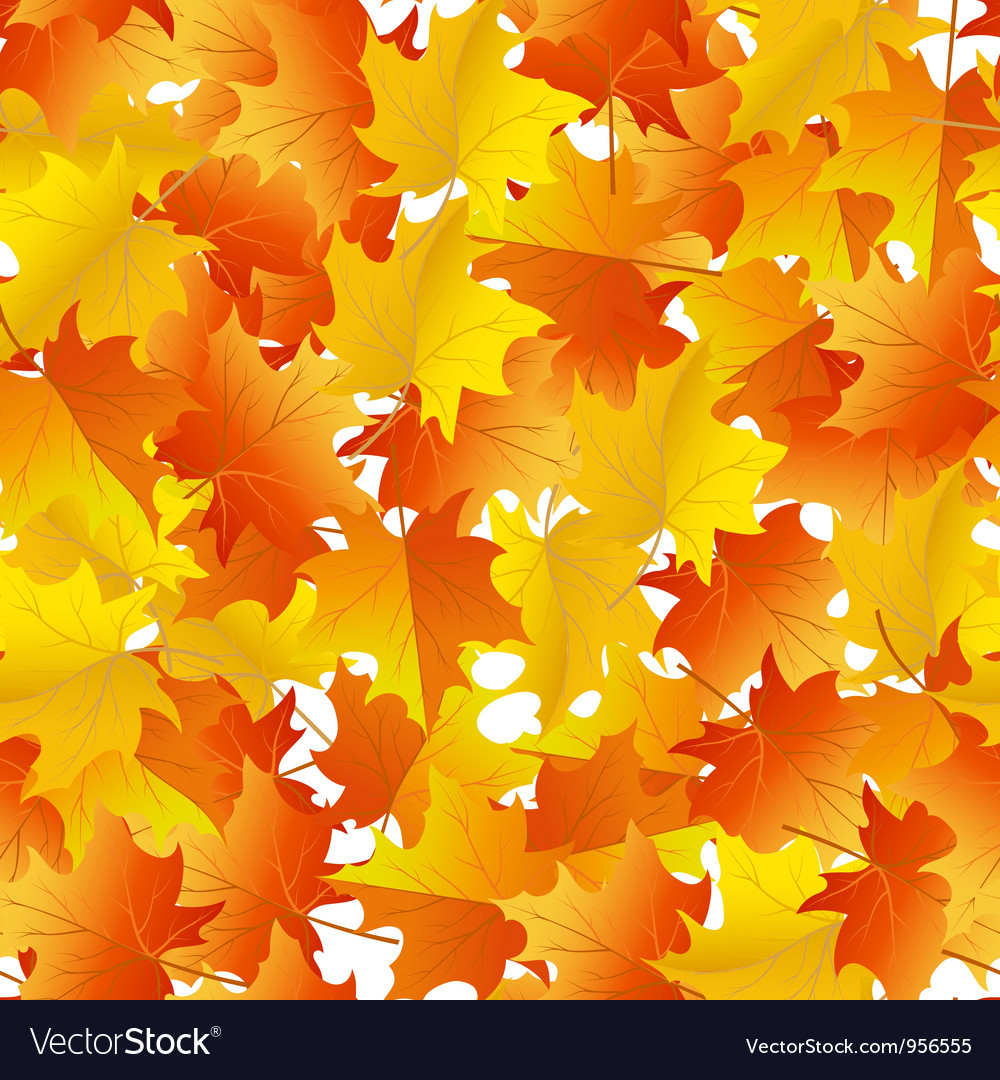 Autumn seamless vector | Price: 1 Credit (USD $1)