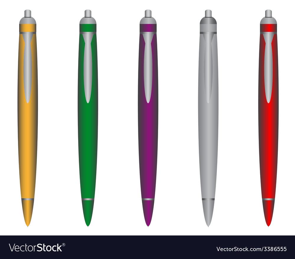 Ball pen vector | Price: 1 Credit (USD $1)