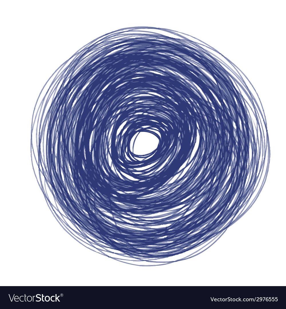 Blue circle vector | Price: 1 Credit (USD $1)