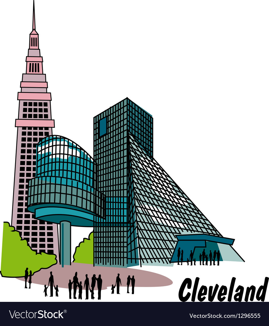 Cleveland vector | Price: 1 Credit (USD $1)