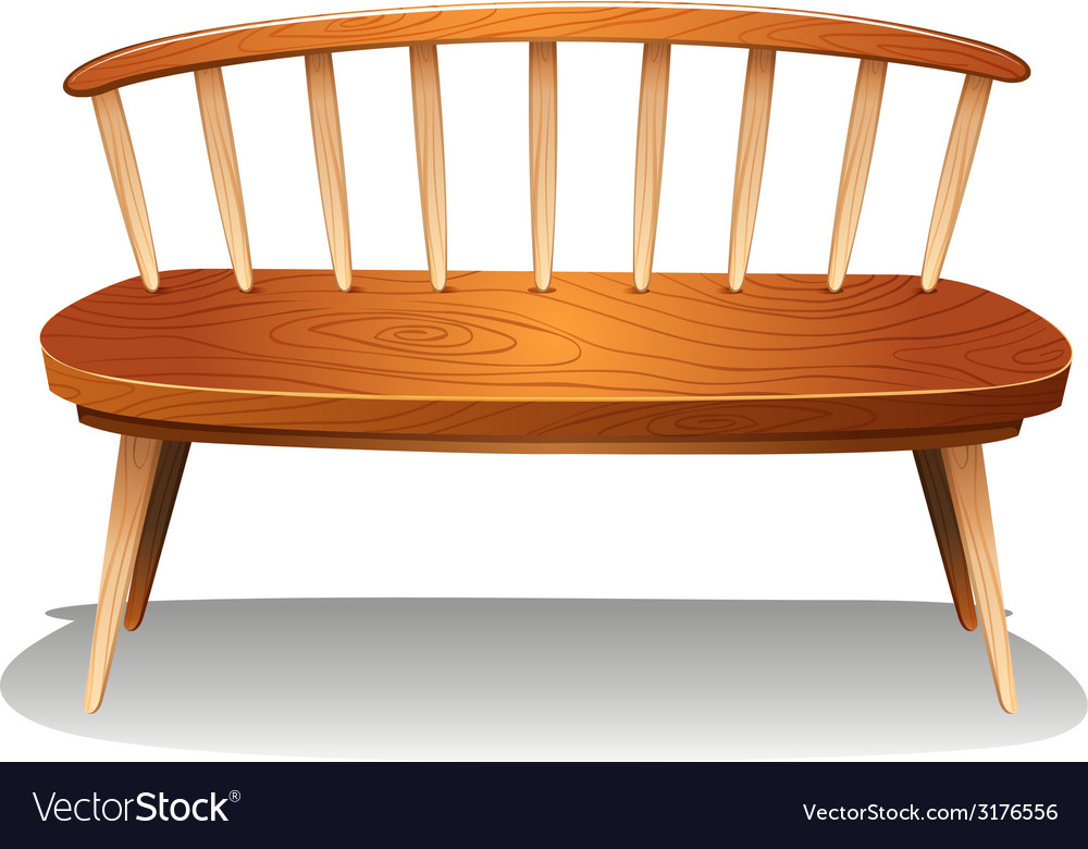 A wooden chair furniture vector   Price: 1 Credit (USD $1)