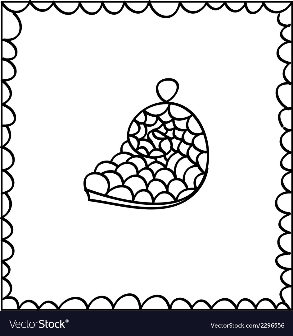 Hand drawn decorative seashell design element vector | Price: 1 Credit (USD $1)