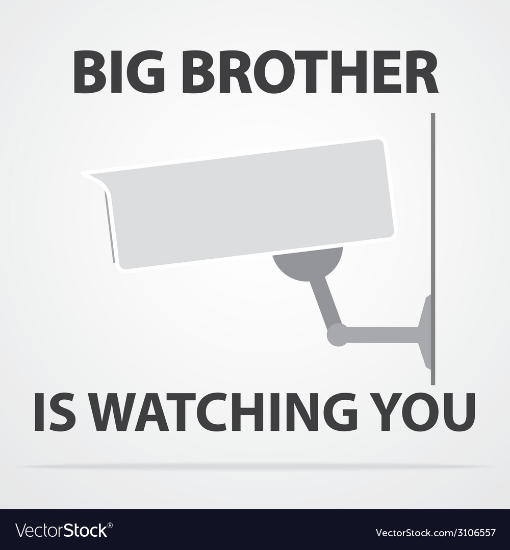 Big brother vector | Price: 1 Credit (USD $1)
