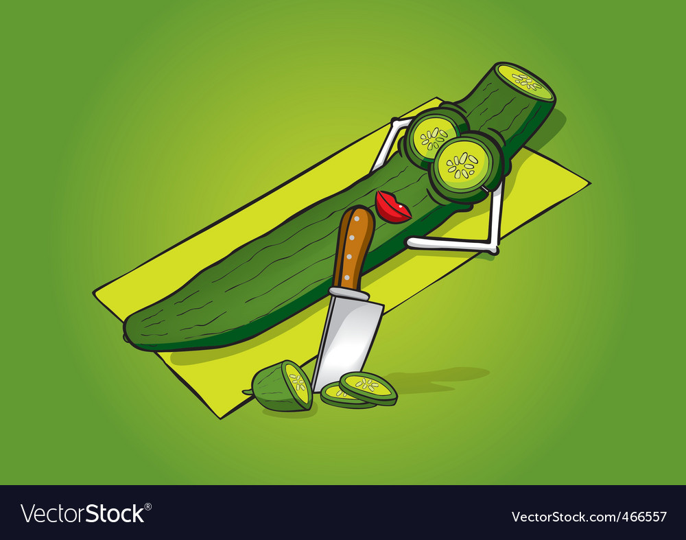 Cucumber vector | Price: 3 Credit (USD $3)