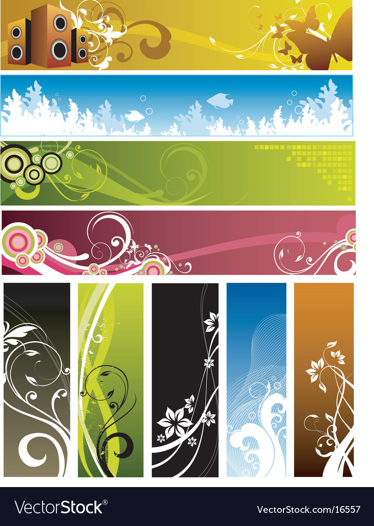 Floral graphic backgrounds vector | Price: 3 Credit (USD $3)
