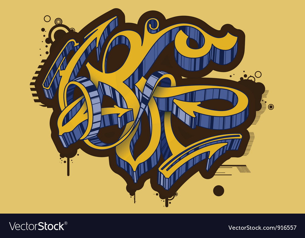 Graffiti vector | Price: 1 Credit (USD $1)