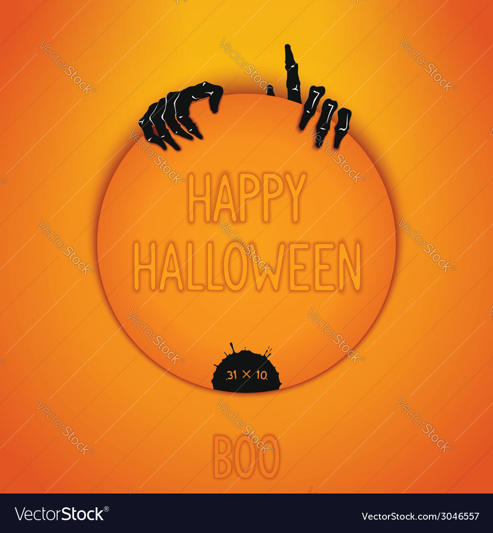 Halloween sticker vector | Price: 1 Credit (USD $1)