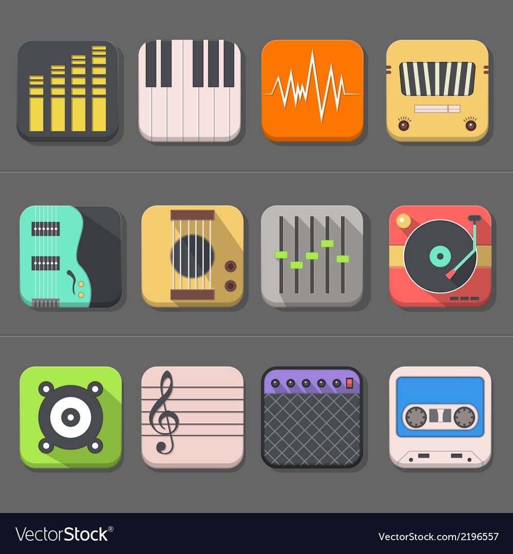 High quality audio icon vector | Price: 1 Credit (USD $1)