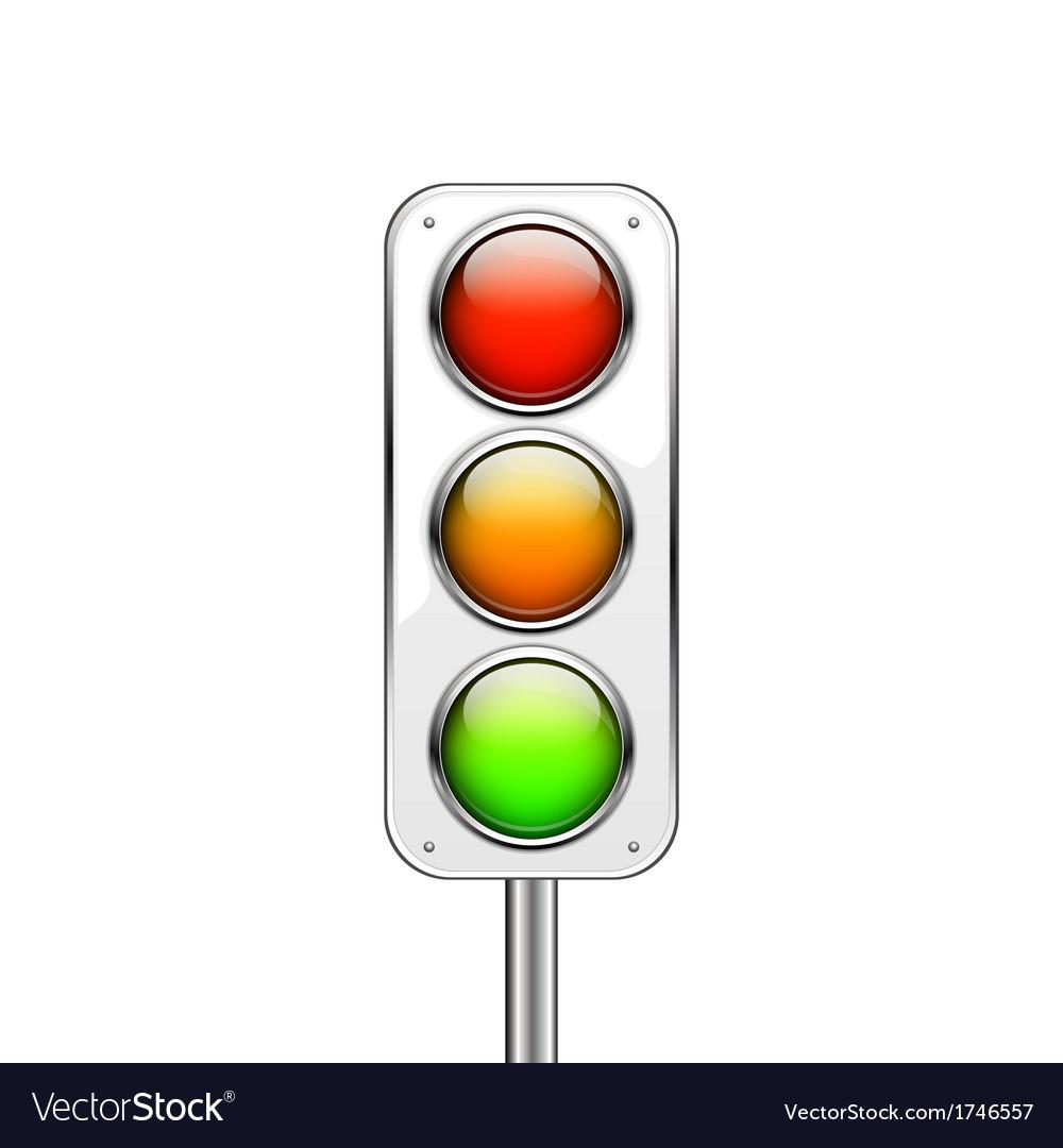 Traffic lights vector | Price: 1 Credit (USD $1)
