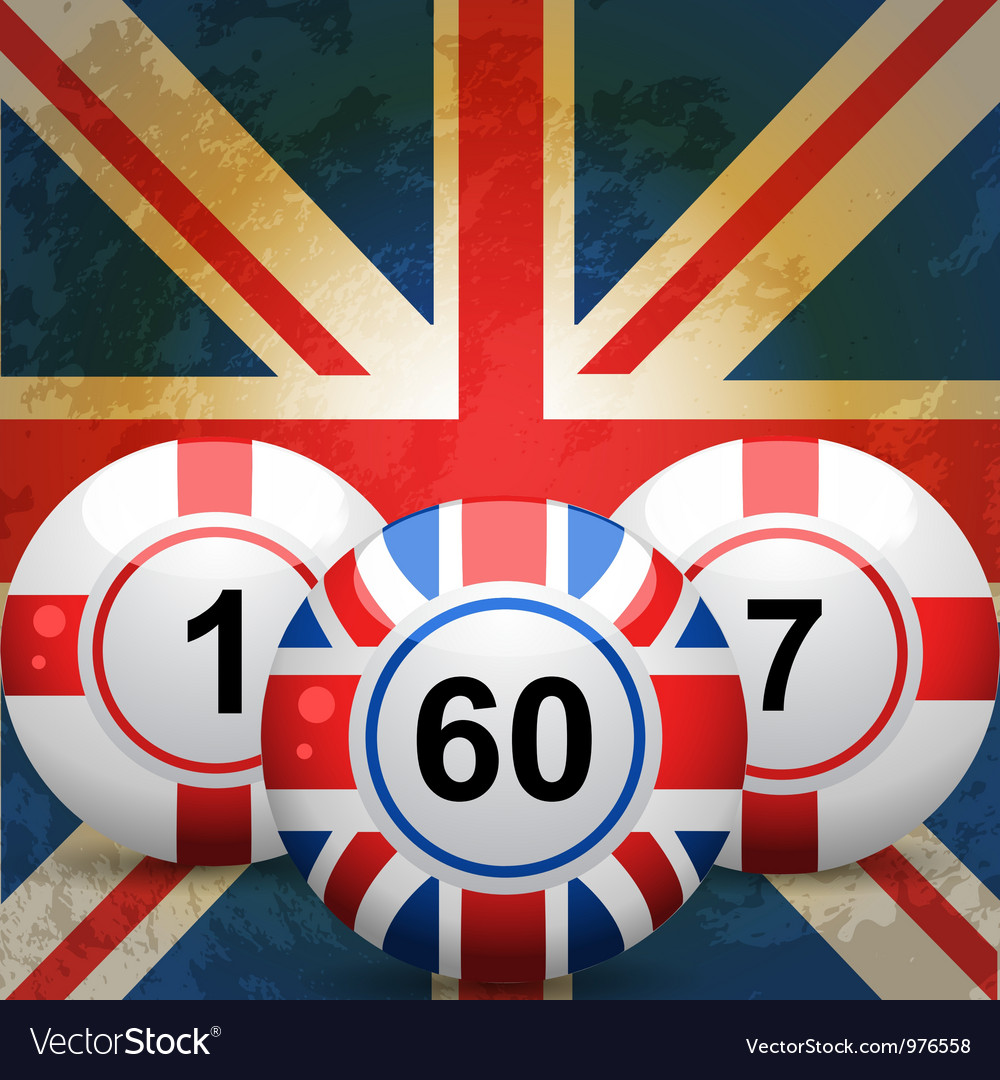 British bingo balls vector | Price: 1 Credit (USD $1)