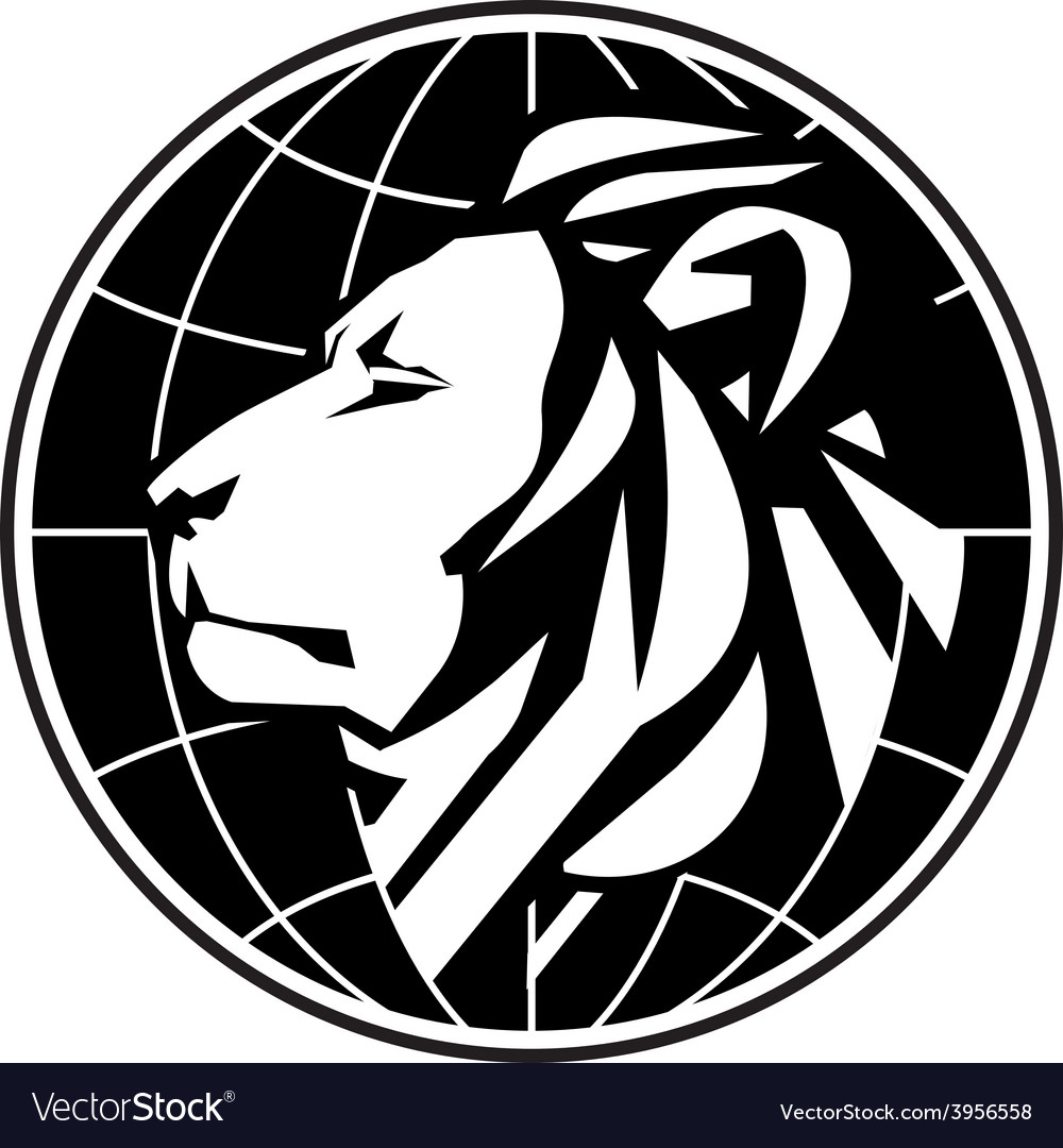 Business logo design template lion or zoo vector | Price: 1 Credit (USD $1)