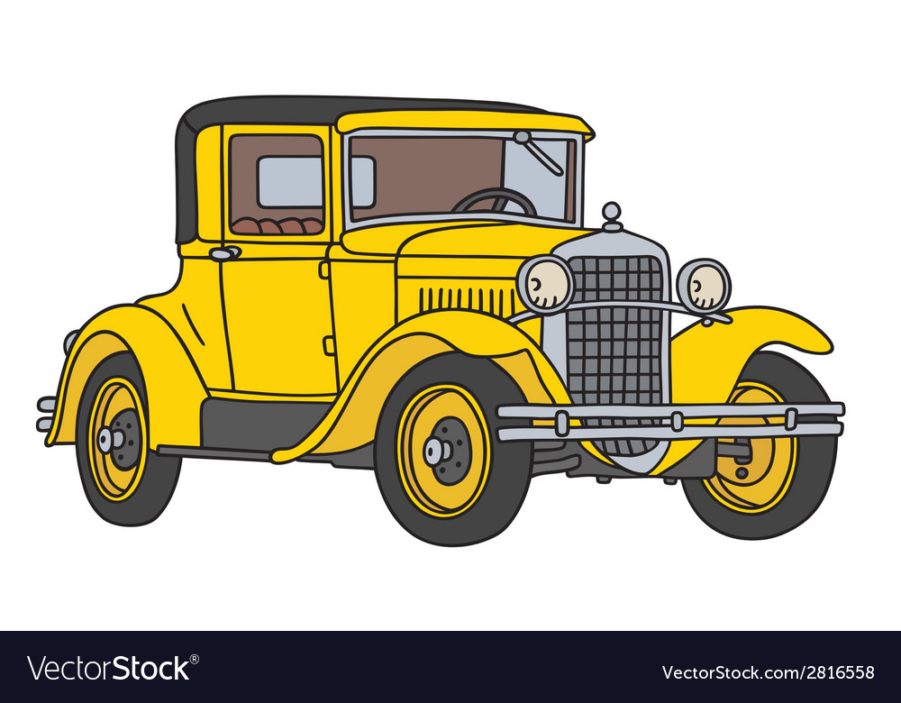 Old racing car vector | Price: 1 Credit (USD $1)