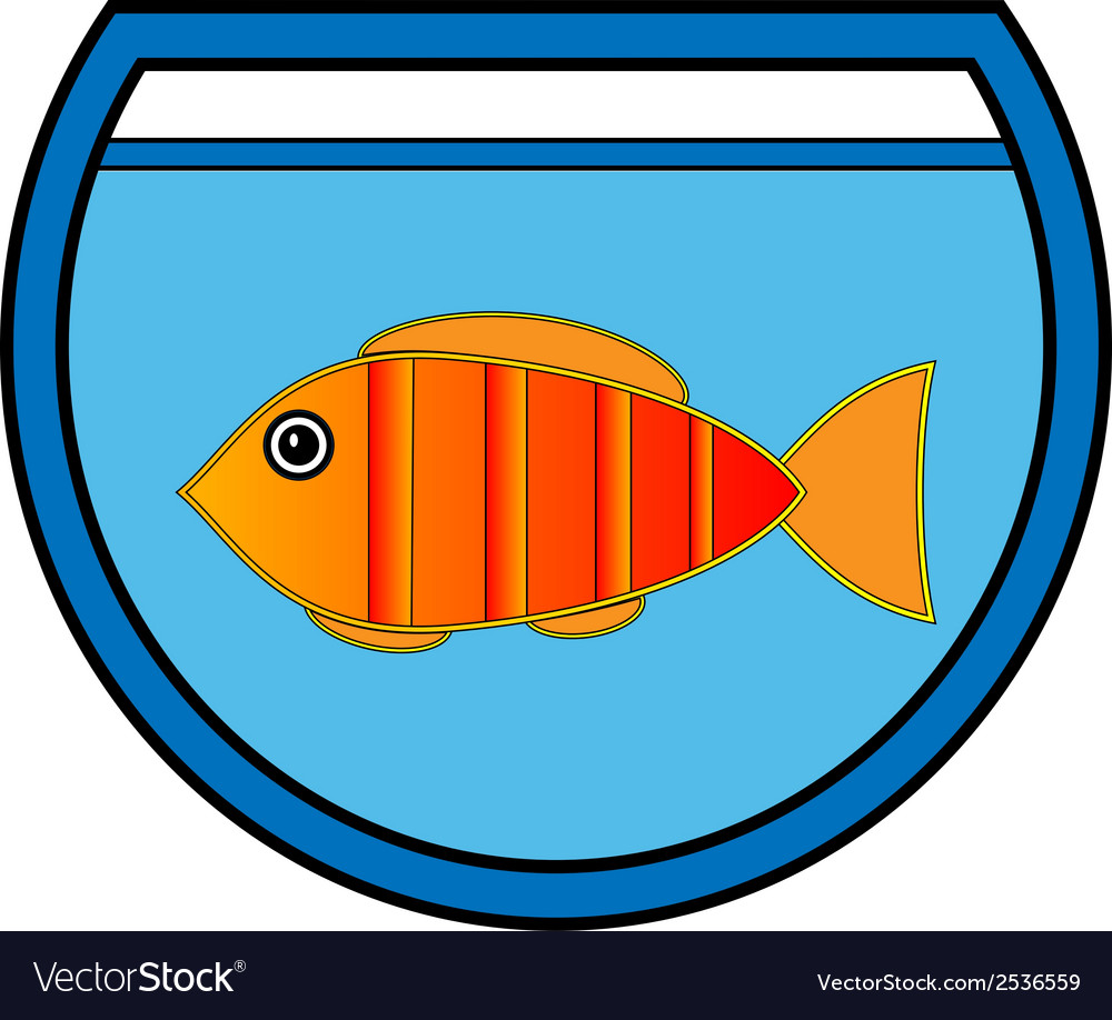 Aquarium icon vector | Price: 1 Credit (USD $1)
