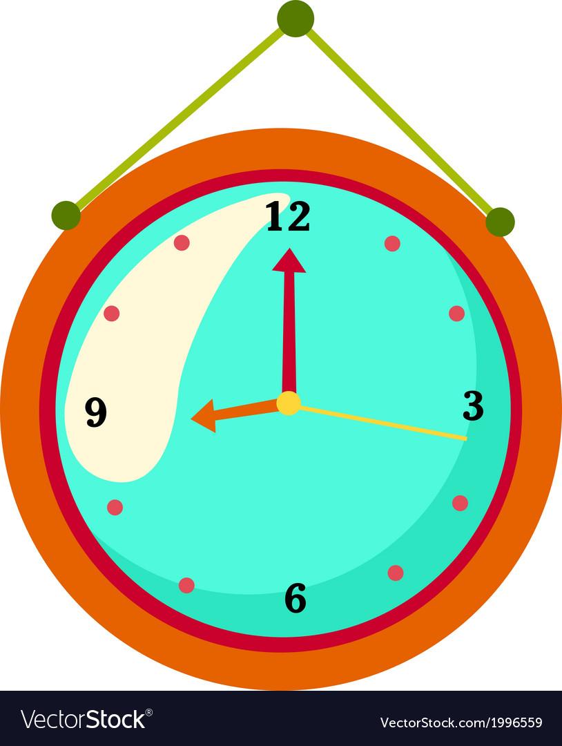 Clock vector | Price: 1 Credit (USD $1)