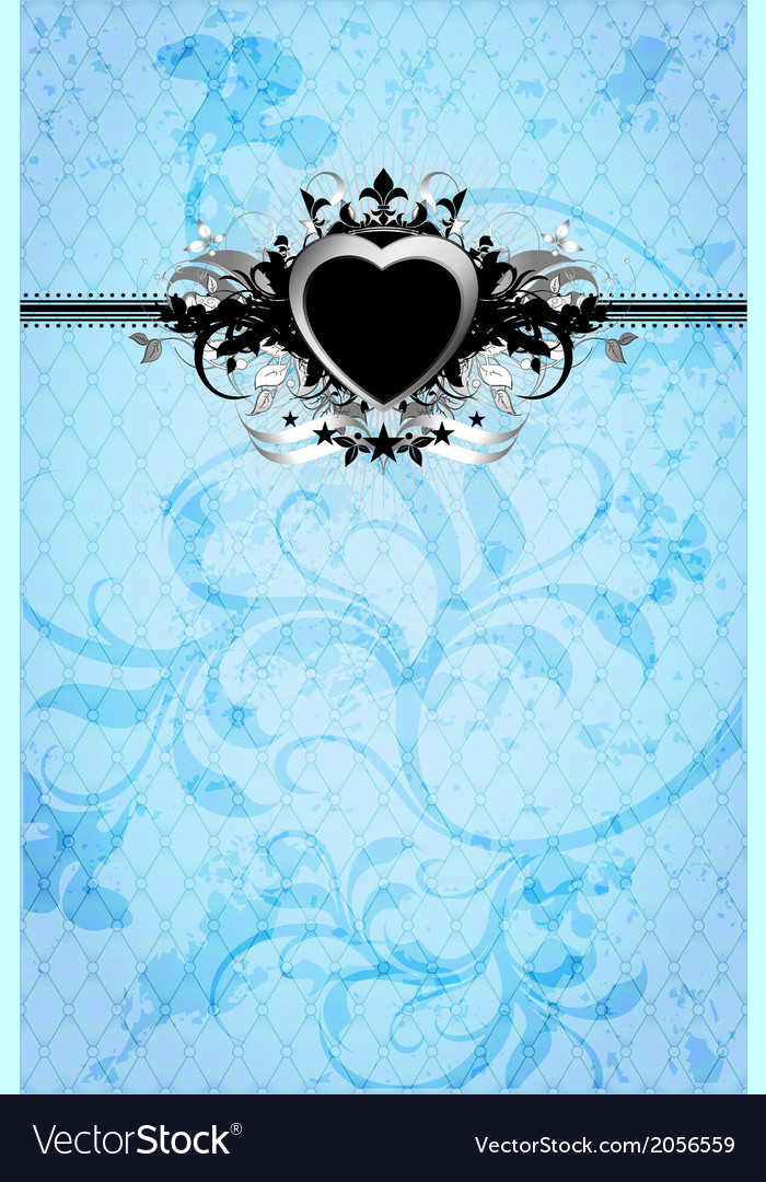 Heart frame vector | Price: 1 Credit (USD $1)
