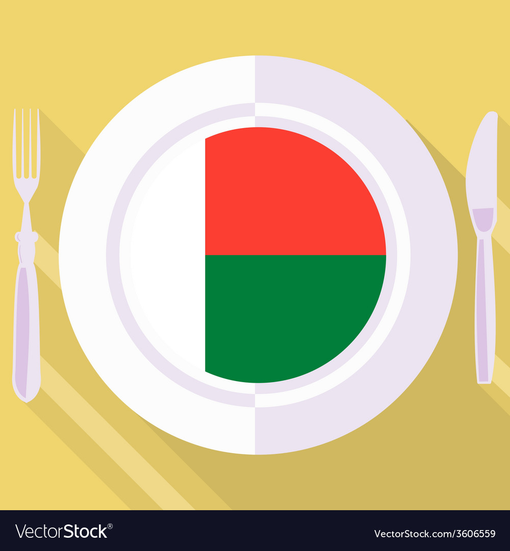 Kitchen of madagascar vector | Price: 1 Credit (USD $1)
