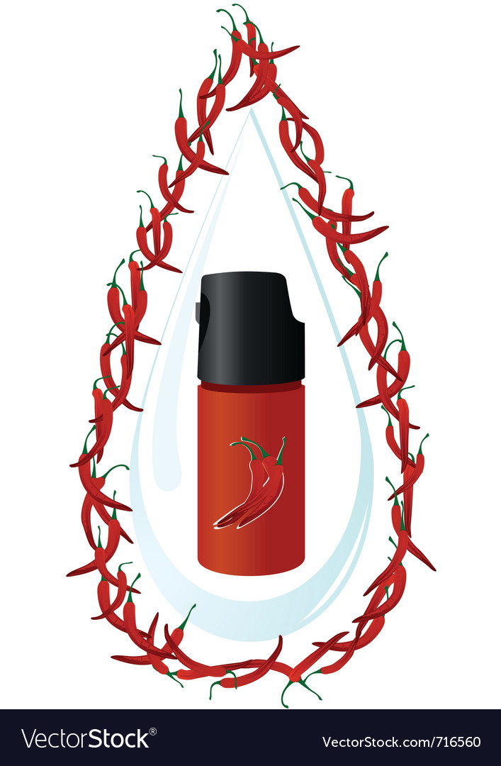 A can of tear gas vector | Price: 1 Credit (USD $1)