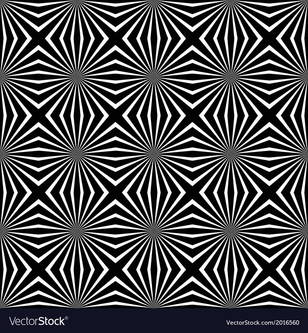 Psychedelic black and white abstract background vector | Price: 1 Credit (USD $1)