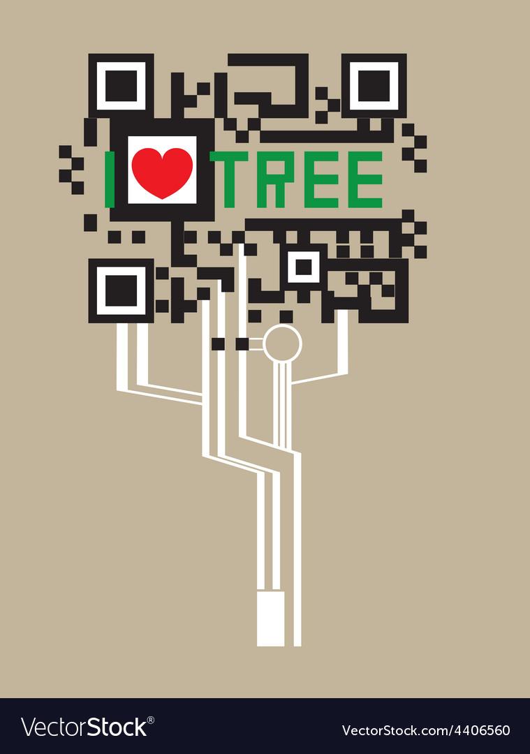 Tree code vector
