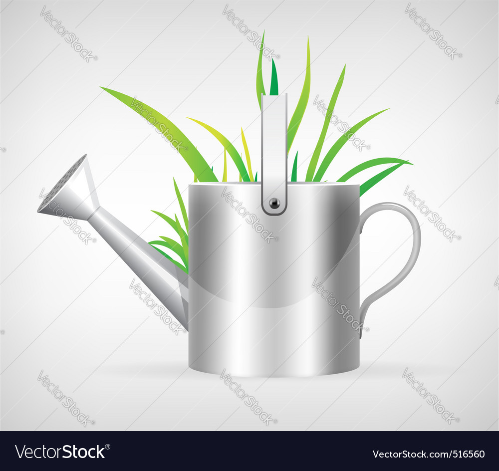 Watering can vector | Price: 1 Credit (USD $1)