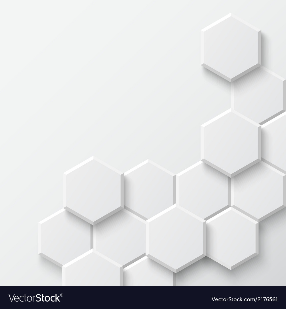 Abstract hexagonal background vector | Price: 1 Credit (USD $1)