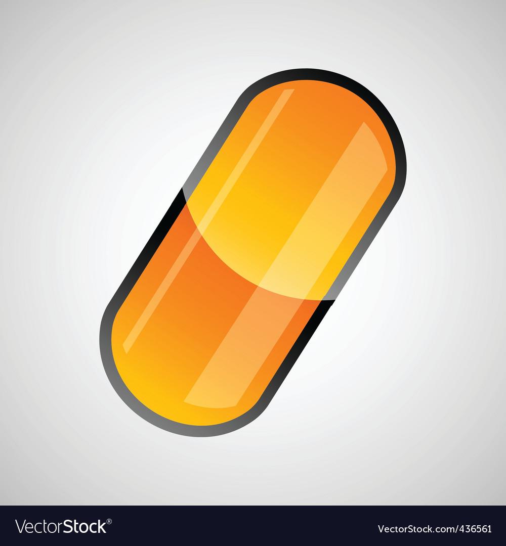 Drug capsule vector   Price: 1 Credit (USD $1)