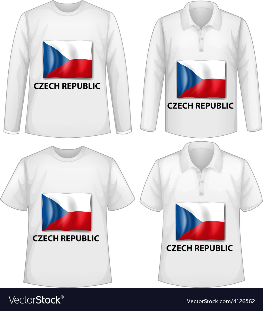 White shirts vector | Price: 1 Credit (USD $1)