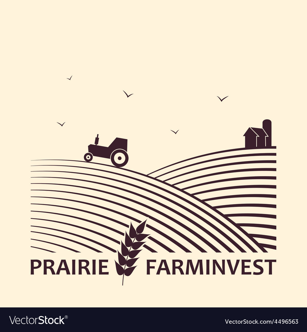 Farm investment business logo vector   Price: 1 Credit (USD $1)
