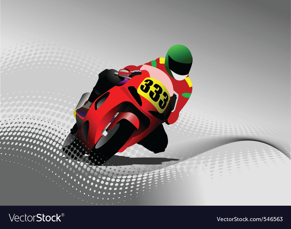 Motorbikes vector | Price: 1 Credit (USD $1)