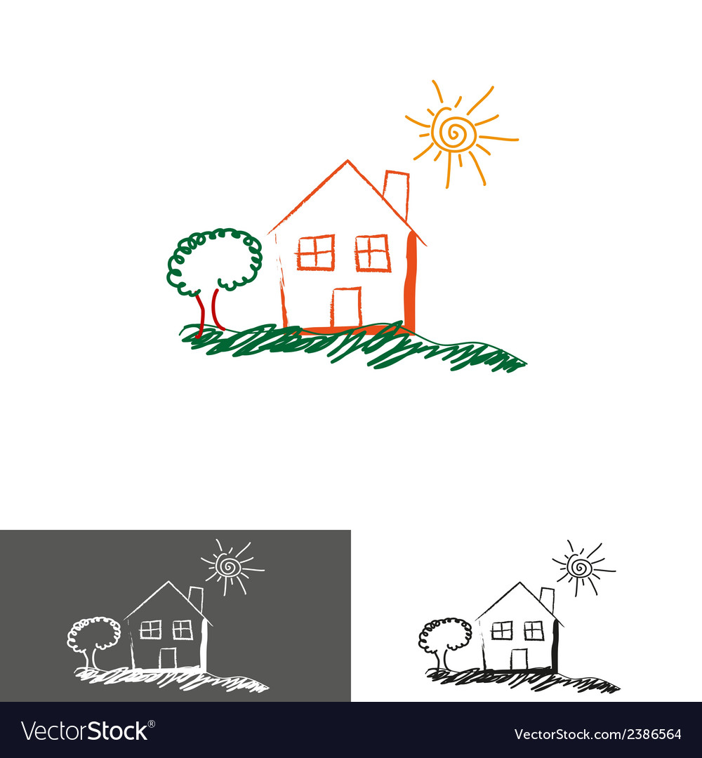 Home house logoicon vector | Price: 1 Credit (USD $1)
