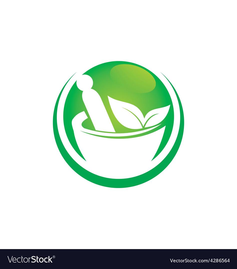 Traditional medicine logo vector   Price: 1 Credit (USD $1)