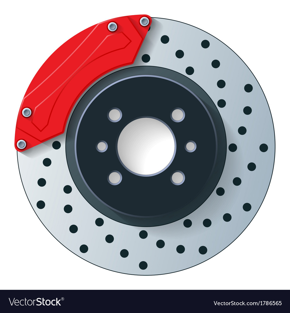 Car dick brake vector | Price: 1 Credit (USD $1)