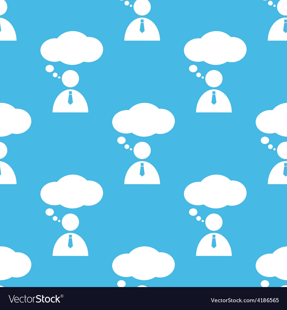 Conversation seamless pattern vector | Price: 1 Credit (USD $1)