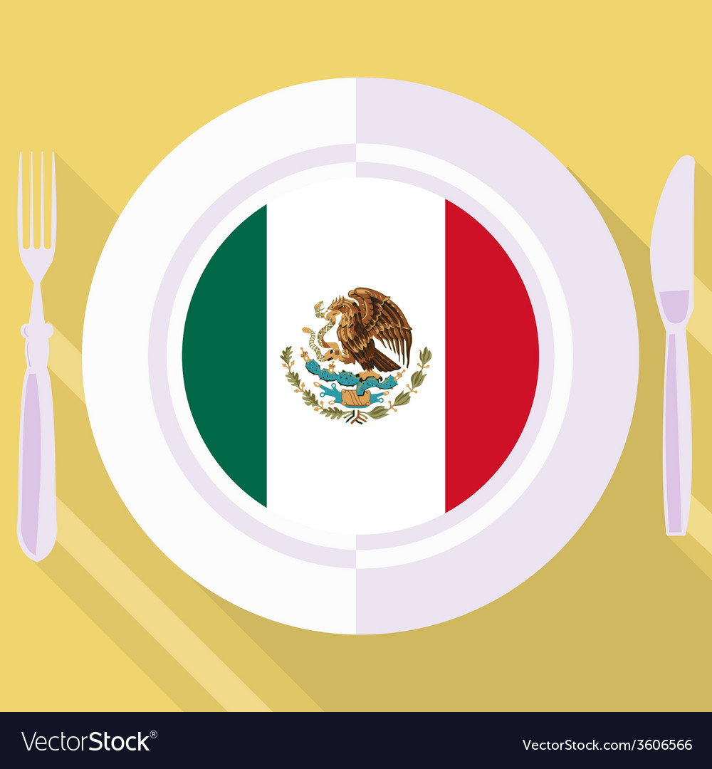 Kitchen of mexico vector | Price: 1 Credit (USD $1)