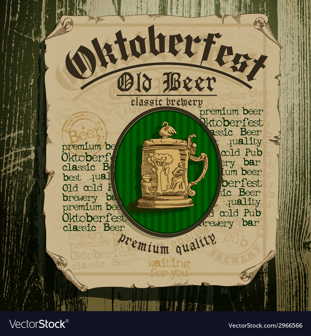 Oktoberfest design vector | Price: 1 Credit (USD $1)