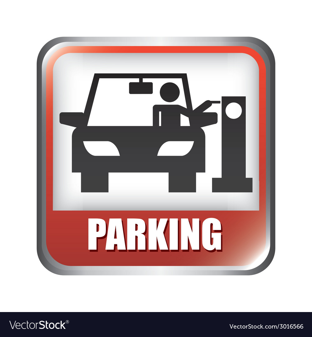 Parking design vector | Price: 1 Credit (USD $1)