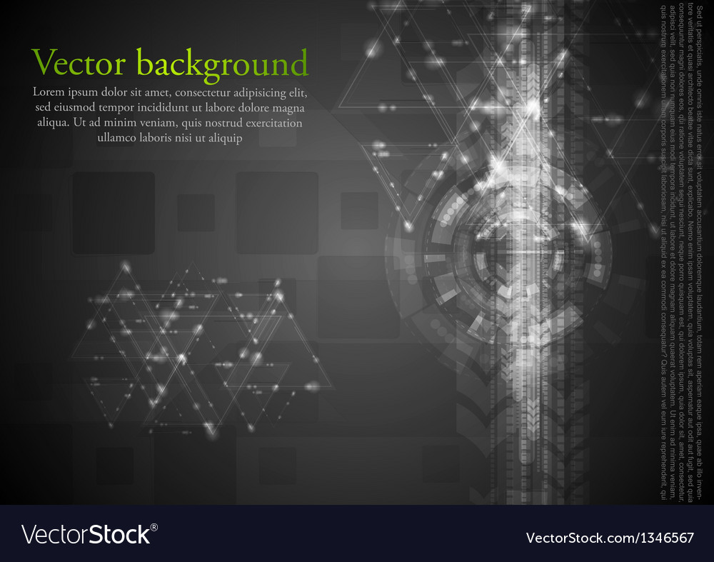 Dark hi-tech background vector | Price: 1 Credit (USD $1)