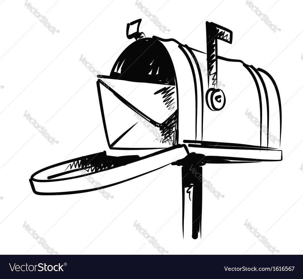 Mailbox vector | Price: 1 Credit (USD $1)