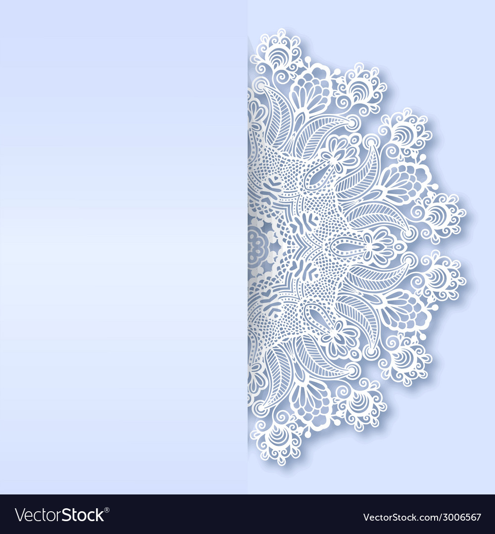 Ornamental template with circle ornate background vector   Price: 1 Credit (USD $1)