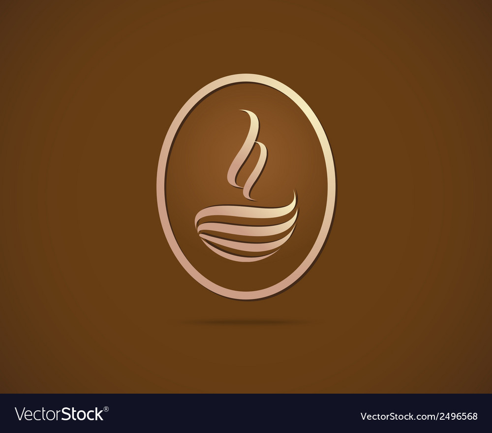 Coffee cups icons stylized sketch symbol vector | Price: 1 Credit (USD $1)