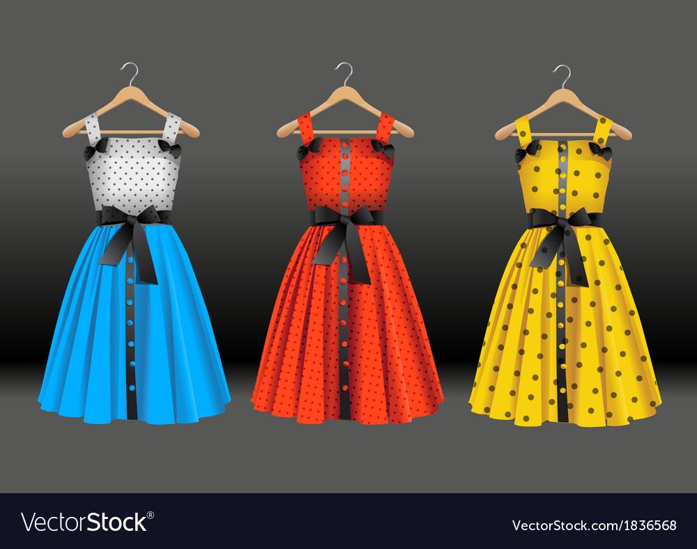 Fashion dresses vector | Price: 3 Credit (USD $3)