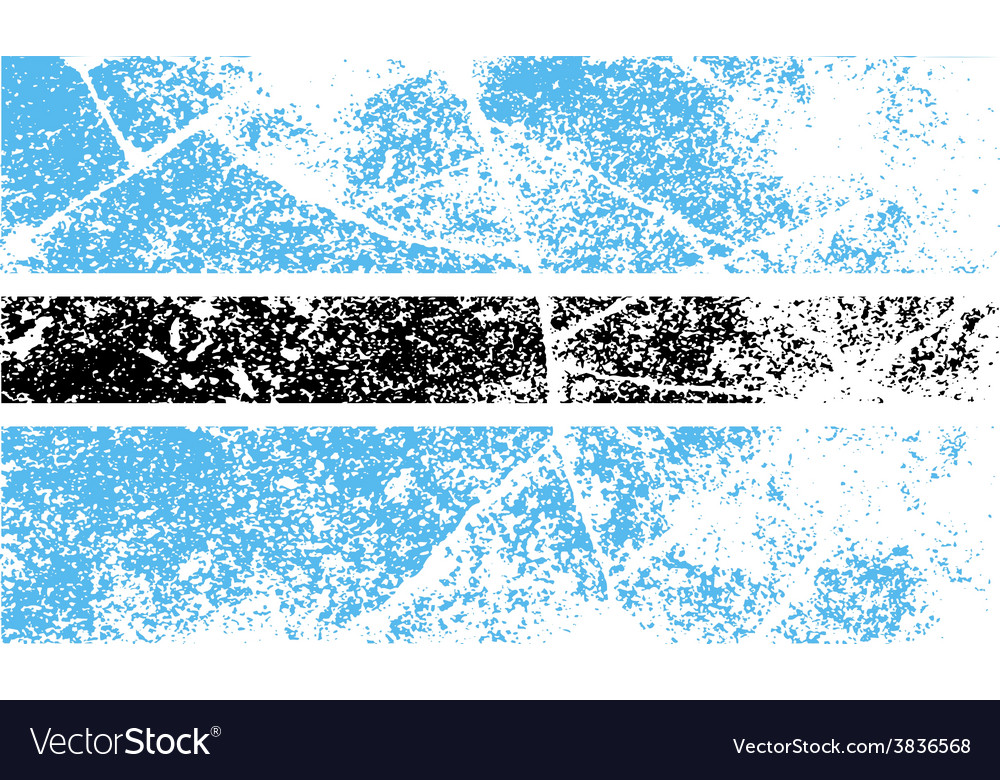 Flag of botswana with old texture vector | Price: 1 Credit (USD $1)