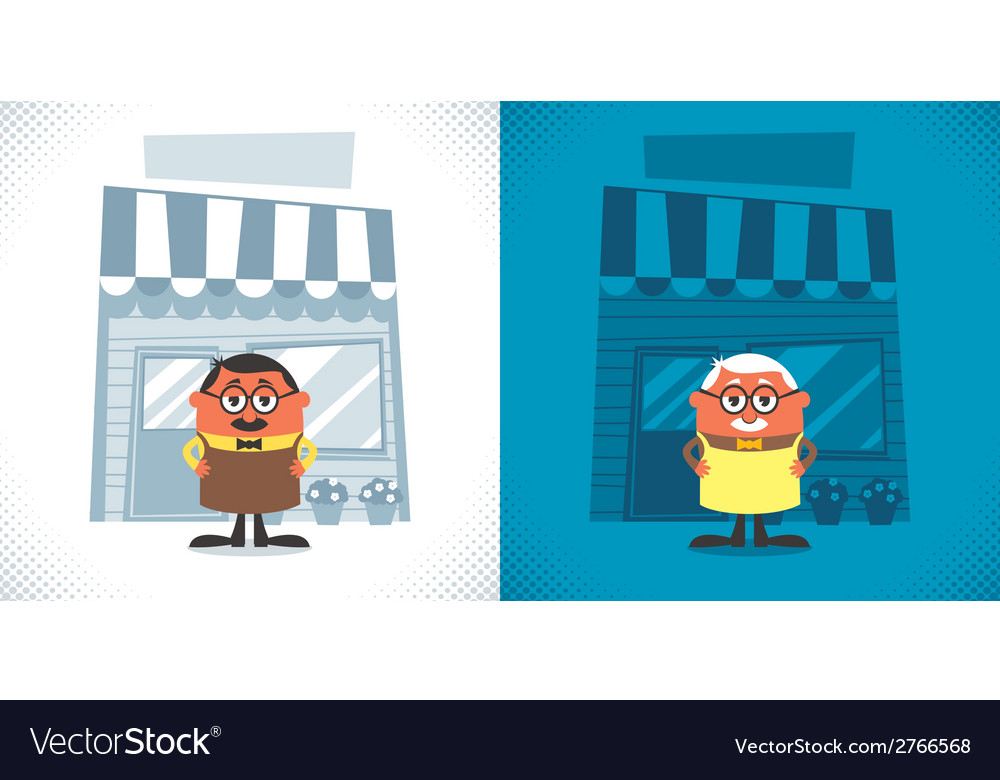 Shopkeeper vector | Price: 1 Credit (USD $1)