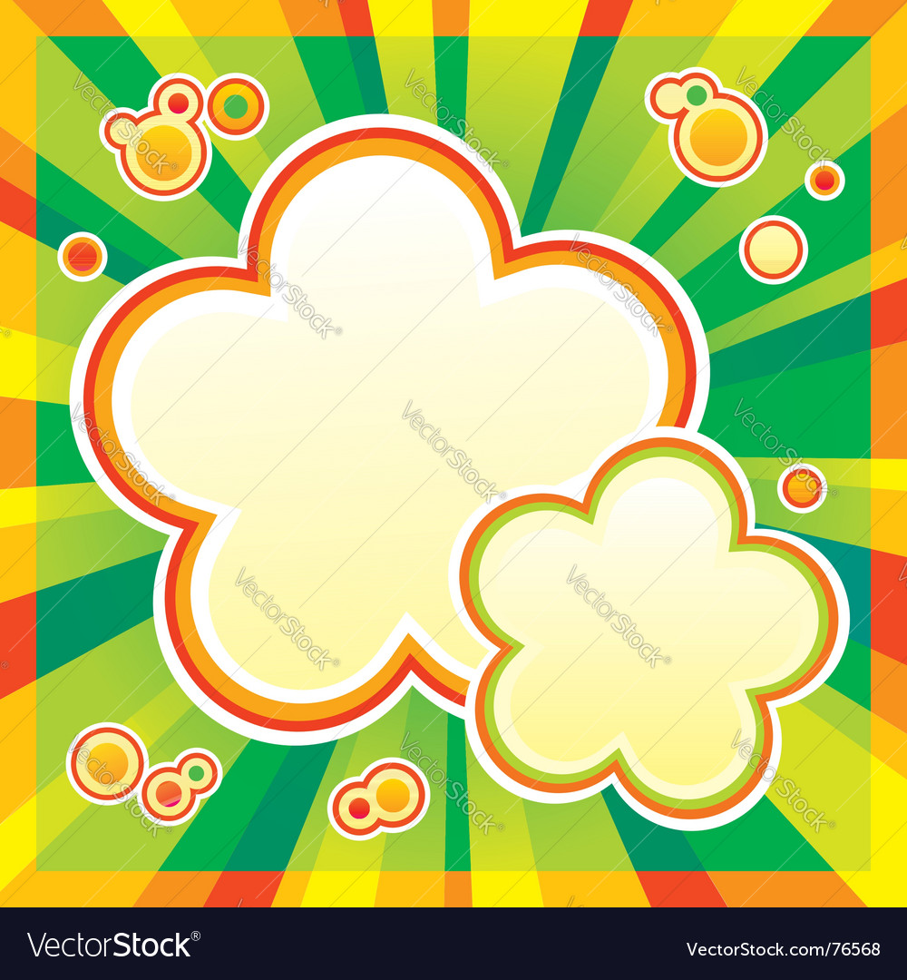 Sun rays vector | Price: 1 Credit (USD $1)