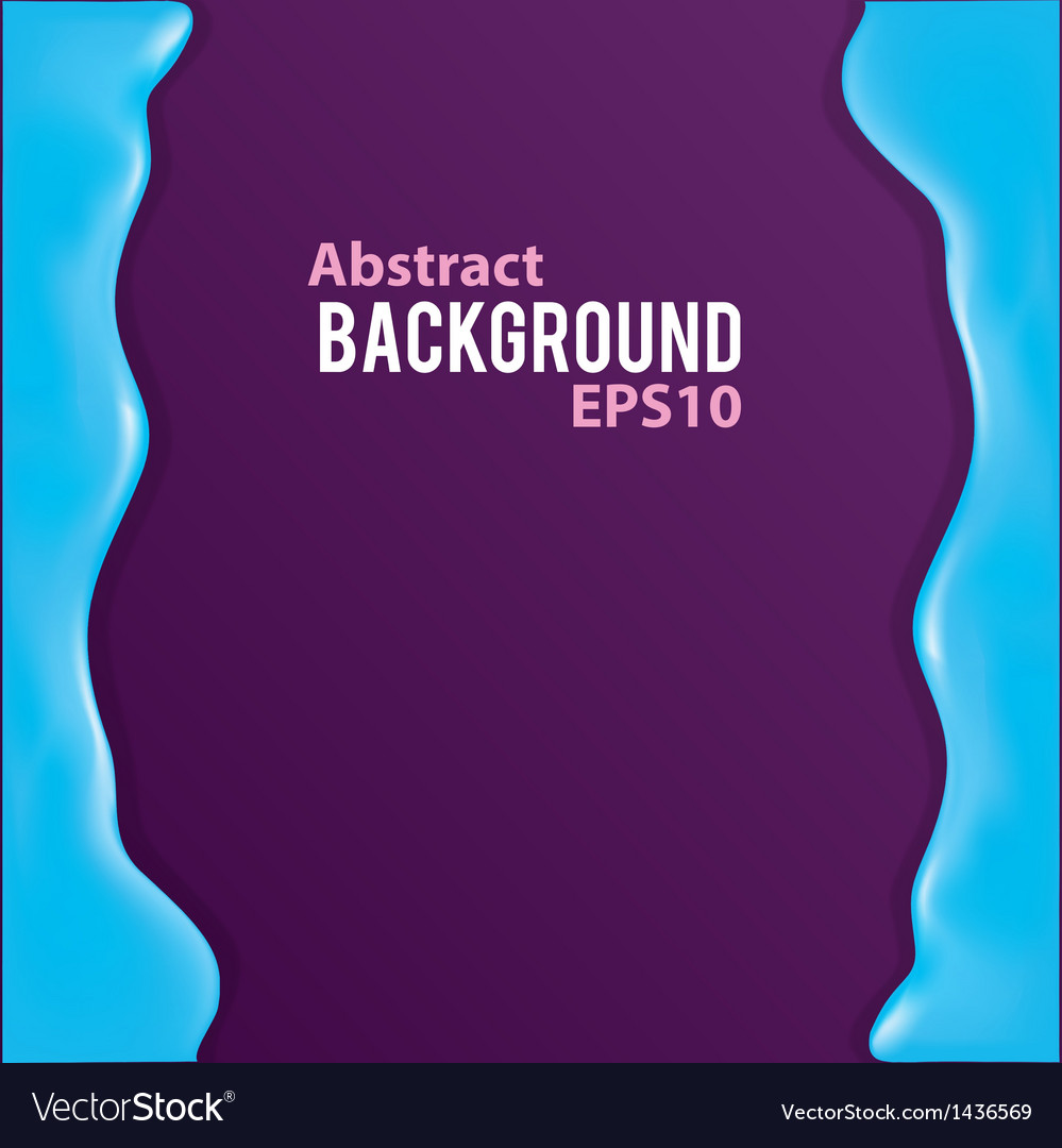 Abstract background with liquid frame vector | Price: 1 Credit (USD $1)