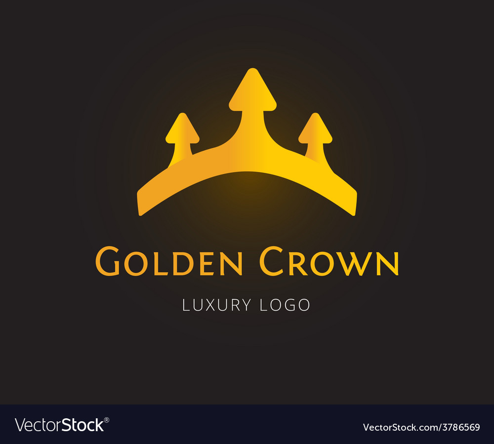 Abstract crown logo template for branding vector | Price: 1 Credit (USD $1)