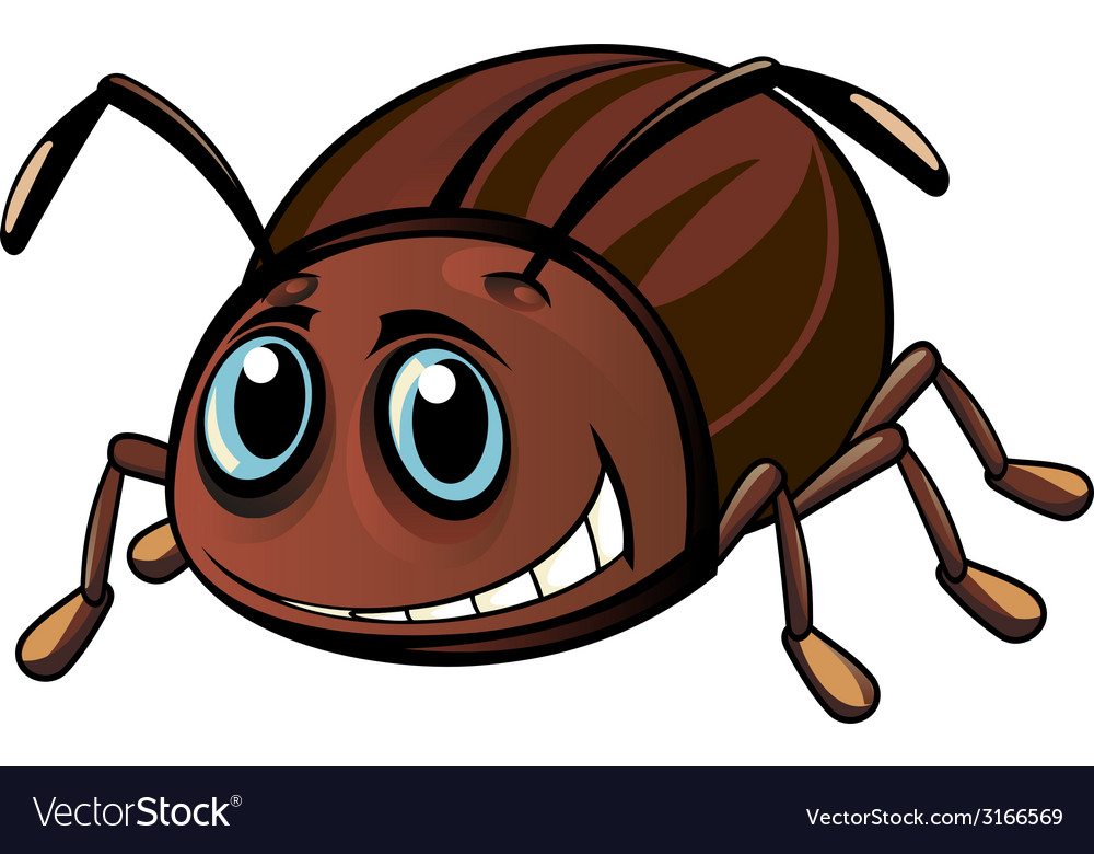 Funny beetle vector | Price: 1 Credit (USD $1)
