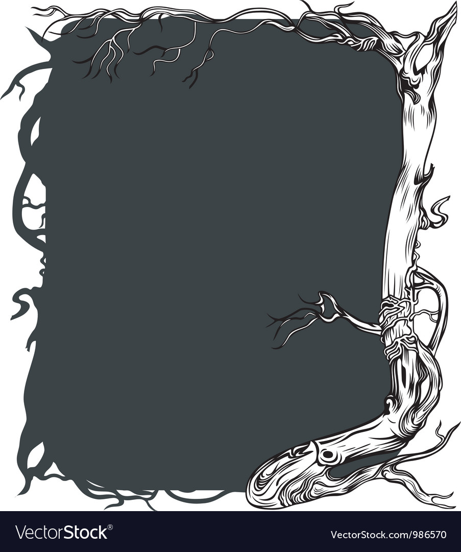 Background with old tree vector   Price: 3 Credit (USD $3)